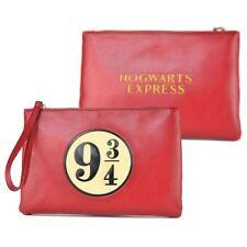 New Harry Potter Platform 9 3/4 Travel Pouch Purse Hogwarts Express Official