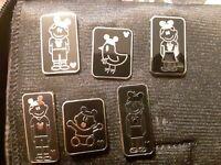Disney Pin Lot of 6 Hidden Mickey Family With Mickey Ears