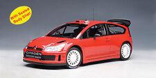 1:18 AutoArt - Citroen C4 WRC - Plain Body Red NEW IN BOX