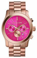 NEW MICHAEL KORS MK5931 ROSE GOLD RUNWAY WATCH - 2 YEARS WARRANTY