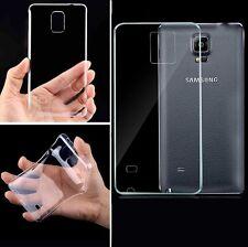 Funda Carcasa Silicona 0.3mm Thin Transparent Clear TPU Cover Case para Phones