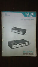 Sony hst-399 tc-119w2 service manual original repair book stereo receiver radio