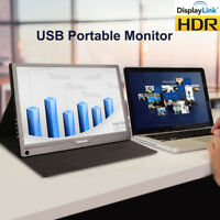 SIBOLAN S15c 13.3 inch DHR IPS USB Portable Monitor 1080p with HDMI/USB3.0 Input