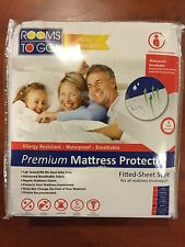 Rooms to go Premium Mattress Protector King allergen/water/dust mite/stain proof