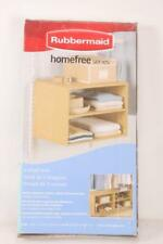 Rubbermaid 3E28 Configurations 3 Shelf Hanging Unit, Maple