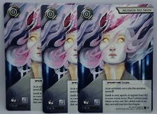 Netrunner LCG Promo - Mushin No Shin Playset of 3 Cards