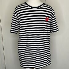 Commes Des Garcons Striped Mens T Shirt Size XL