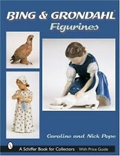 Bing & Grondahl Figurines (Schiffer Book for Collectors) New Hardcover Book Caro