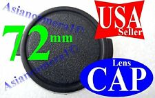 72mm Sanp-on Front Plastic Safety Lens Cap Dust Cover  72 mm