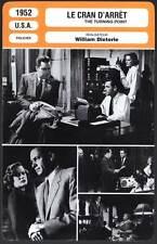 LE CRAN D'ARRET - Holden,O'Brien,Dieterle(Fiche Cinéma) 1952 - The Turning Point