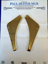 MG MGB, MGB GT Stainless Steel Rear Bumper Fillers AHH7278/9SS