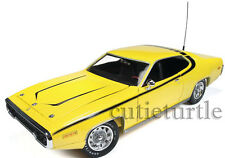 Autoworld 1971 Plymouth Satellite Daisy Dukes Of Hazzard General Lee 1:18 Yellow