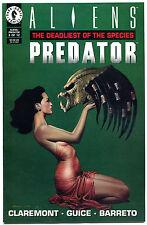 ALIENS vs PREDATOR : DEADLIEST of. the Species #3, NM+, Horror, John Bolton
