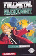 FULLMETAL ALCHEMIST  tome 2 Arakawa MANGA shonen