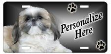 Shih Tzu  9  Personalized  Pet License Plate