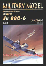 Halinski MM 2003/3-4 - Junkers Ju 88 C-6 - 1:33