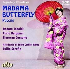 Madama Butterfly von Tebaldi,Serafin,Accademia St.Cecilia,Bergonzi (2013)
