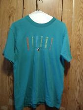 Vintage Mickey & Co Mickey Mouse Teal Single Stitch T-shirt