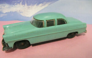 Made In U.S.A. The Lionel Corp. Plastic Vintage Toy Car Sedan Turquoise/Teal NY