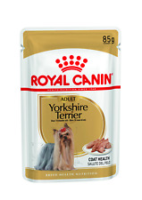 Royal Canin Yorkshire Terrier  Adult Wet Dog Pouches 85g x 12