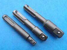 SDS Plus Socket Driver adaptor 3Pcs for hammer drills fits makita dewalt bosch *