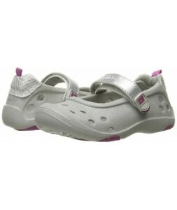 Stride Rite Toddler Girl Sandals Summer Phibian Water Slip On Clog Shoes Grey 8