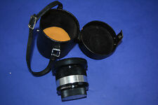 Yashica Yashinon-DX M42 mount wide 28mm F2.8 Lens good shape, aperture works
