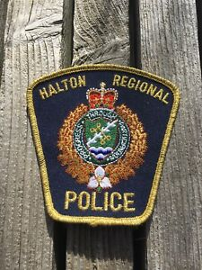 Halton Regional Police Service - Police Patch - Command Rank