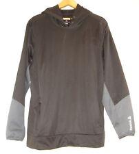 Reebok Play Warm Mens Logo Hoodie Black Long Sleeve Pullover Sweatshirt XL