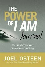 The Power of I Am Journal by Joel Osteen (2016, Hardcover)