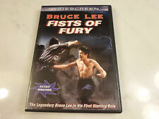 FISTS OF FURY (DVD) Bruce Lee's 1st Starring Role! 1972