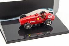 A. Ascari Ferrari 500 F2 #102 Formel 1 Weltmeister 1952 1:43 HotWheels Elite