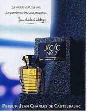 Publicité Advertising 016 1988 Jean Charles de Castelbajac  J/C/C N°2