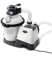 Intex Krystal Clear Sand Filter Pump for Above Ground Pools, 10 Inch, 110-120V