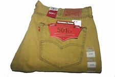 Levis 501 Urban Sauterne 288940061 Original Classic Fit Taper Dyed Yellow 38/30