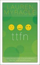 ttfn (The Internet Girls), New, Lauren Myracle Book