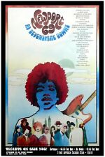 Newport Pop Festival 1969 CONCERT POSTER restored! Jimi Hendrix