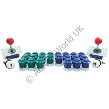 2 Player Arcade Joysticks & Buttons Kit No10