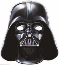 Star Wars Birthday Party Darth Vader Mask Decoration Paper Boys Costume 6pk