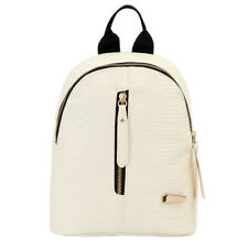 Fashion Women Leather Backpacks Mini Travel Rucksack Handbags School Bag WZY