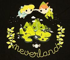 """In Neverland"" Peter Pan Wendy Tinkerbell Hook Men's XL Shirt Teefury"