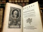1781 WORKS OF ROUSSEAU