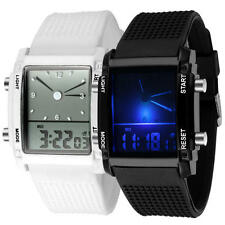 Rectangle Analogue Wristwatches with 12-Hour Dial