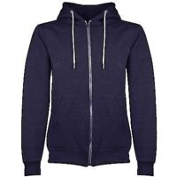 MENS AMERICAN STYLE HOODED FLEECE HOODIE  WITH ZIP SIZES S M L XL 2XL 3XL