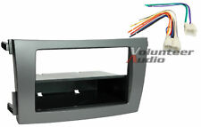 Toyota Corolla Car Stereo Radio Installation Dash Mount Kit DARK GRAY + Harness