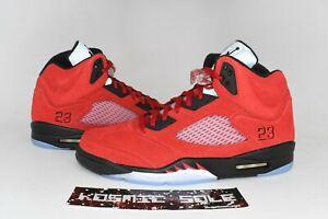 Nike Air Jordan 5 Raging Bull Red 2021 Style # DD0587-600 Size 10