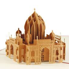 3D Cards- Taj Mahal India buy 3+1