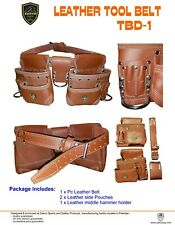 ZAKCO  TOOL RIG, TOOL BELT AND POUCHES. CONSTRUCTION TOOL BELT, FRAMING BELT