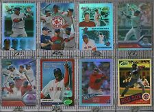 DAVID ORTIZ COMPLETE 8 CARD eTOPPS LOT 2004-2007 Boston Red Sox IN HAND Big Papi