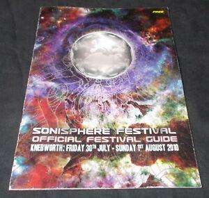 IRON MAIDEN - SONISPHERE 2010 (OFFICIAL FESTIVAL PROGRAMME) RAMMSTEIN